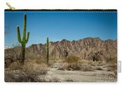 Gila Mountains And Sonoran Desert Carry-all Pouch