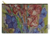 Gilded Flowers Carry-all Pouch