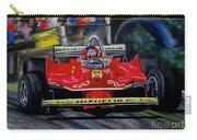 Gilles Villeneuve At The Limit Carry-all Pouch