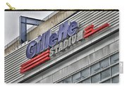 Gillette Stadium Sign Carry-all Pouch