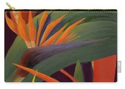 Ginger And Bird Of Paradise Carry-all Pouch