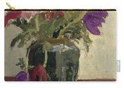 Ginger Pot With Anemones, George Hendrik Breitner, Ca. 1900 - Ca. 1923 Carry-all Pouch