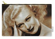 Ginger Rogers, Actress Carry-all Pouch