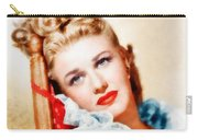 Ginger Rogers By John Springfield Carry-all Pouch