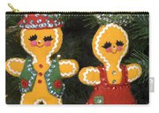 Gingerbread Christmas Ornaments Carry-all Pouch