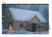 Gingerbread House In Snow Carry-all Pouch
