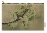 Gingko Branch Carry-all Pouch