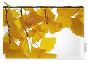 Ginkgo Ginkgo Biloba Leaves In Autumn Carry-all Pouch