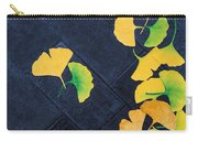 Ginkgo Leaves On Pavement Carry-all Pouch