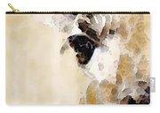 Giraffe Art - Side View Carry-all Pouch