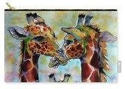 Giraffe Family Carry-all Pouch