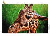 Giraffe Fractal Carry-all Pouch