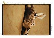 Giraffe Hiding  Carry-all Pouch