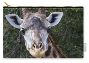 Giraffe Looking At You Carry-all Pouch