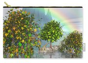 Giraffe Rainbow Heaven Carry-all Pouch