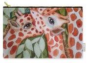 Giraffe Trio By Christine Lites Carry-all Pouch