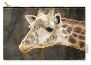 Giraffe Up Close Carry-all Pouch