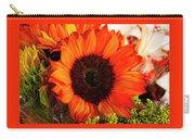 Girasol Naranja Carry-all Pouch