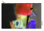Girl And Puppy Painting Carry-all Pouch