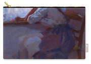Girl At The Window 1885 Carry-all Pouch