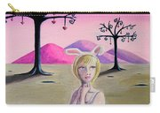 Girl Bunny  Carry-all Pouch