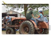 Girl Driving A Tractor Carry-all Pouch