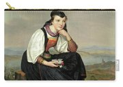 Girl From Hessen In Traditional Dress Carry-all Pouch
