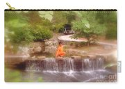 Girl In Orange Carry-all Pouch
