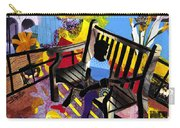 Girl In Red Shoes Carry-all Pouch by Everett Spruill