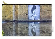 Girl In The Mural Carry-all Pouch