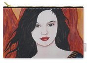 Girl Of Fire Carry-all Pouch