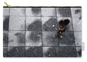 Girl On A Grid Carry-all Pouch