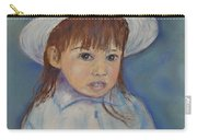 Girl With A Hat Carry-all Pouch