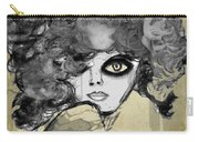 Girl With Black Eye Carry-all Pouch