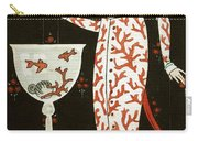 Girl With Fish Bowl Carry-all Pouch