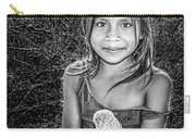Girl With Her Pet Carry-all Pouch