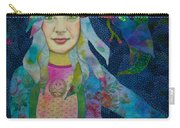 Girl With Kaleidoscope Eyes Carry-all Pouch