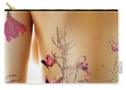 Girl With Spring Tattoo Carry-all Pouch