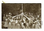 Girls  Doing The Maypole Dance Pacific Grove Circa 1890 Carry-all Pouch