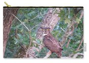Give A Hoot Carry-all Pouch