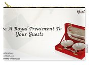 Give A Royal Treatment To Your Guests - Rustik Craft Carry-all Pouch