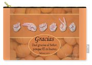 Give Thanks Spanish Carry-all Pouch