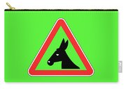Giving Up Bigstock Donkey 171252860 Carry-all Pouch