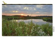 Glacial Park Sunrise On The Nippersink Carry-all Pouch