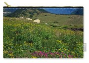Glacier Blooms Carry-all Pouch