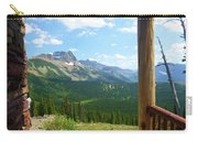 Glacier Chalet View Carry-all Pouch