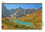 Glacier Cracker Lake Panorama Carry-all Pouch