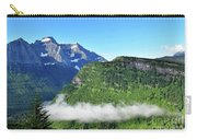 Glacier Mountain Above The Fog Carry-all Pouch