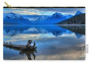 Glacier Mountain Reflections Carry-all Pouch