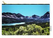 Glacier National Park Views Panorama No. 01 Carry-all Pouch